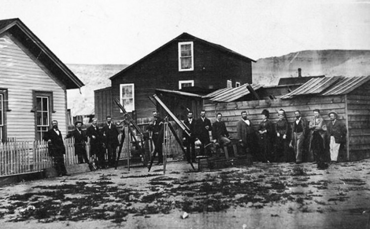Thomas Edison visited Wyoming in 1878 to view a solar Eclipse.