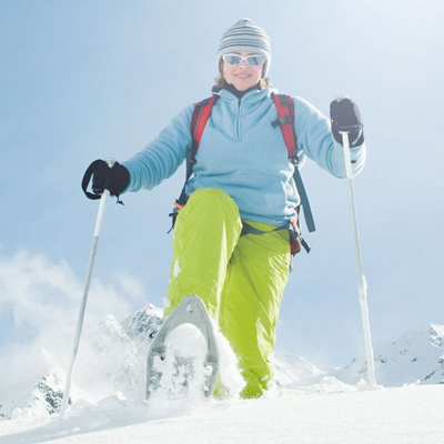 Half Day Snowshoeing Tours in Jackson Hole, Wyoming