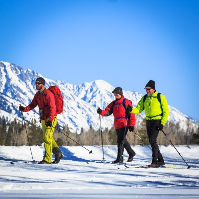 Half Day Cross Country Ski Tour in Grand Teton