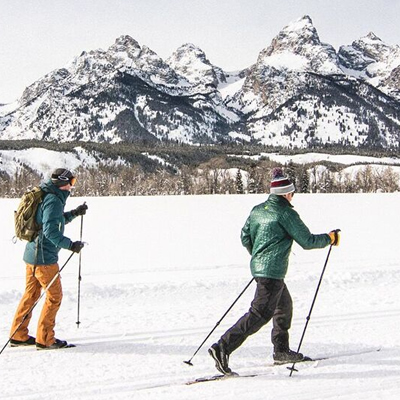 Full Day XC Skiing Tour in Jackson Hole, Wyoming